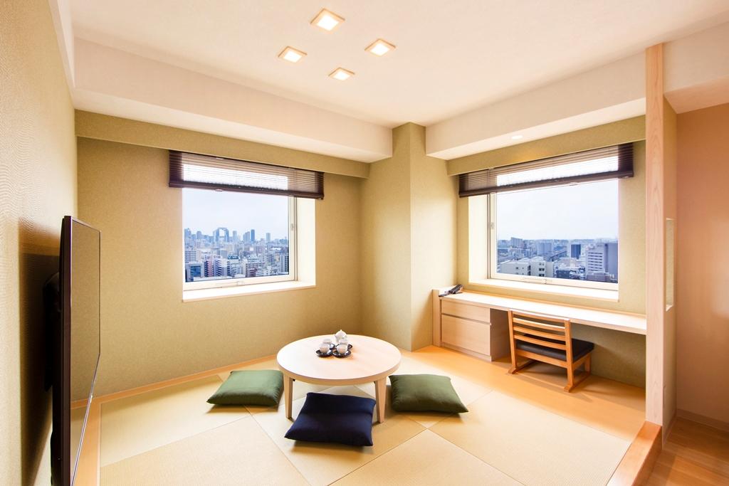 からくさホテルグランデ新大阪タワー / ハイフロアグランデルーム with Tatami