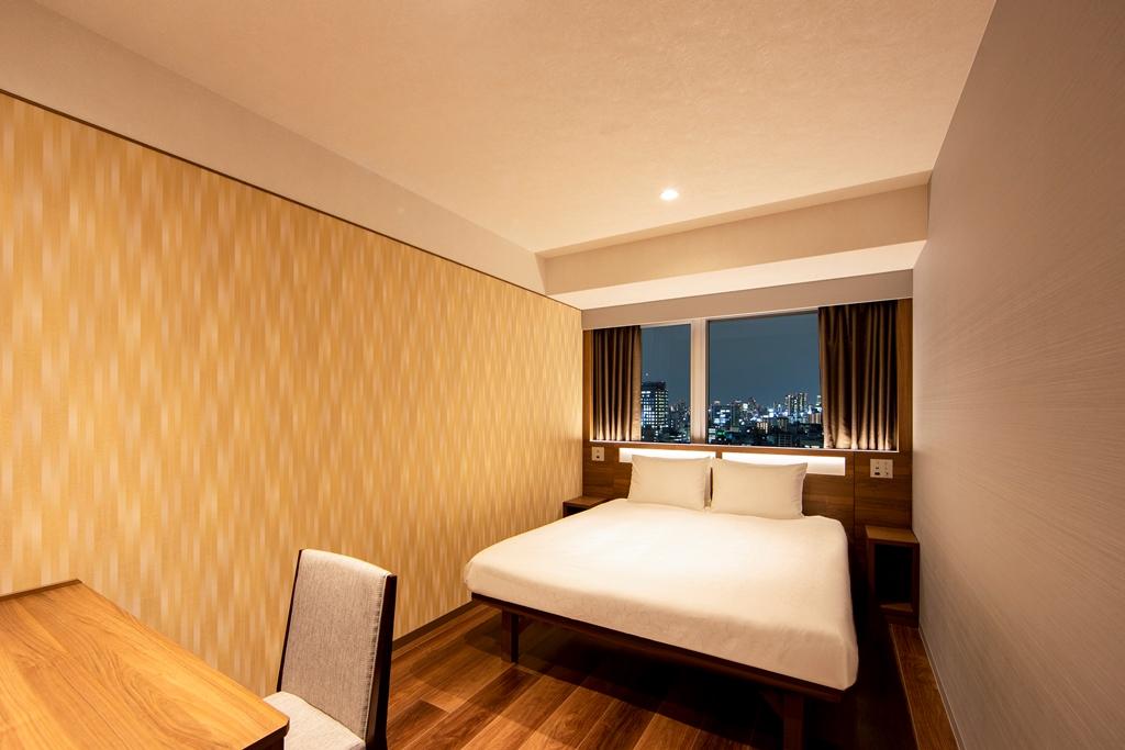 からくさホテルグランデ新大阪タワー / ハイフロアスーペリアダブル