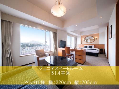 ホテル日航大分 オアシスタワー ジュニアスイート(禁煙)51.4平米