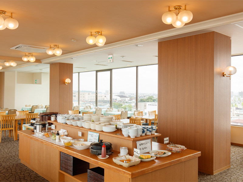 ホテルパールシティ秋田大町 / ◆ご飯はもちろんあきたこまち!おかわりしたくなる朝食付プラン
