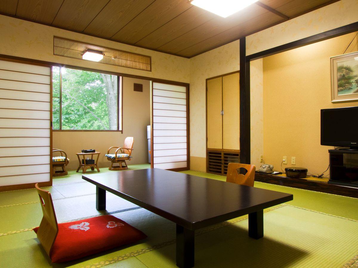 プラザホテル山麓荘 / 【禁煙】西館 和室12.5畳