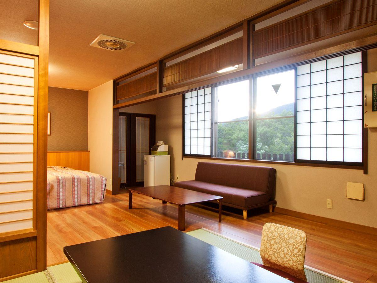 プラザホテル山麓荘 / 【禁煙】東館 和洋室