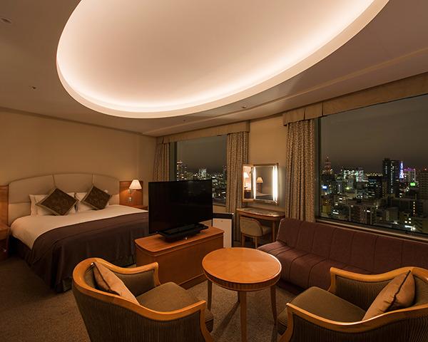 札幌プリンスホテル / デラックスダブルルーム・喫煙