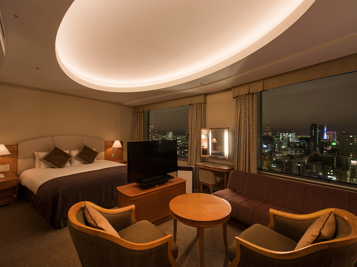 札幌プリンスホテル デラックスダブルルーム【禁煙】