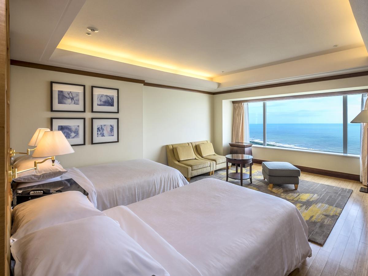 シェラトン・グランデ・オーシャンリゾート / 上層階確約!フィットネス利用特典付き 36階以上の新カテゴリー「プレミアムツイン・ダブル・トリプル」
