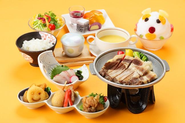 休暇村 指宿 / 【季節の特別料理:秋】薩摩が誇る三大黒肉と黒鮪料理×ハーフビュッフェ