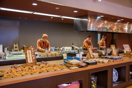 休暇村 志賀島 / 博多玄海新鮮ビュッフェ♪魚介を中心にバリエーション豊かな約50種類のビュッフェ