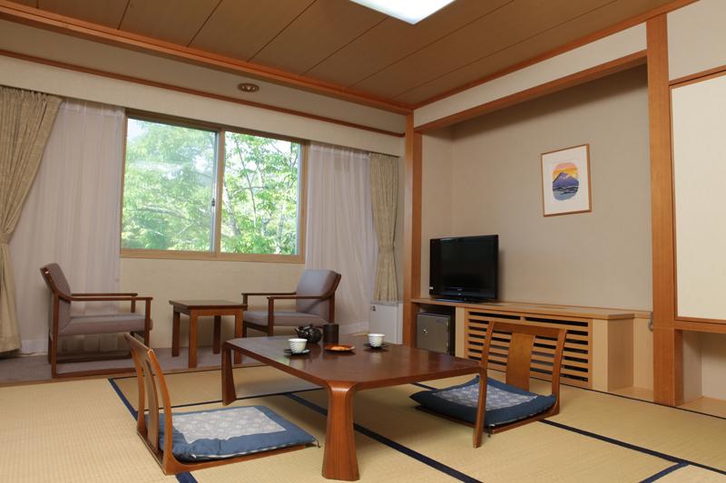 休暇村 支笏湖 / 【禁煙】和室8畳