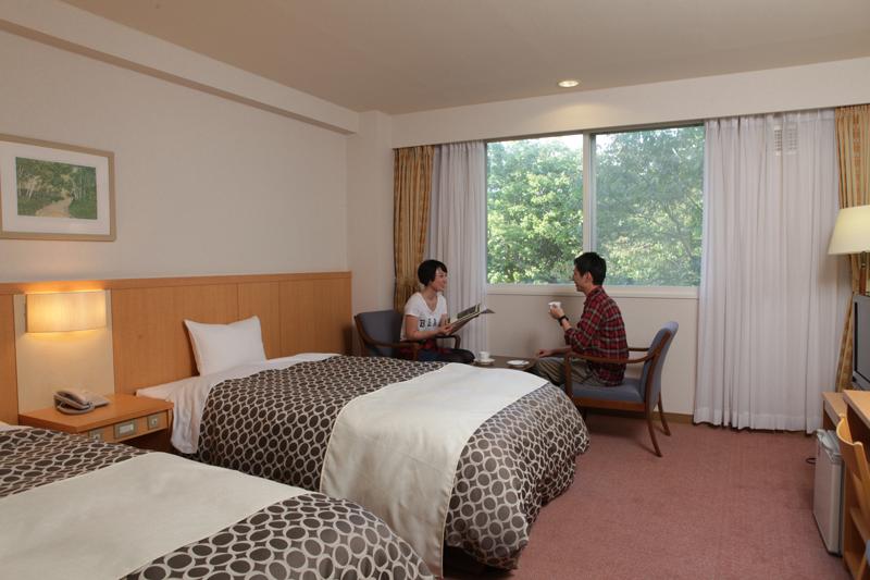 休暇村 支笏湖 / 【禁煙】洋室ツインルーム