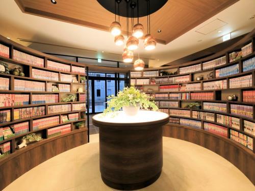 クインテッサホテル福岡天神 Comic & Books / 【シンプルステイ】福岡を満喫!80種類のCORE's New Style Buffet朝食付き
