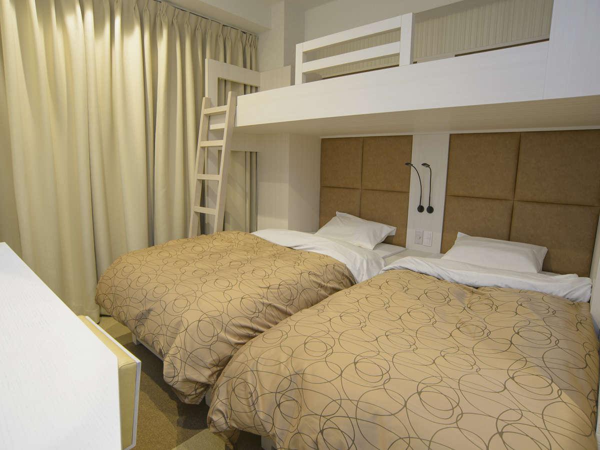 ホテルリリーフ 札幌すすきの ☆トリプルルーム(喫煙)100cm幅ベッド(上段1名 下段2名)☆