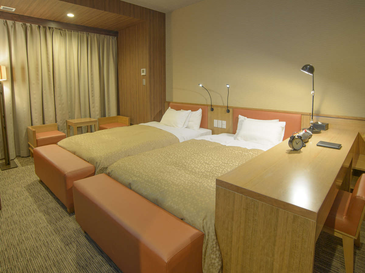 ホテルリリーフ 札幌すすきの / ☆デラックスツインルーム(禁煙)120cm幅ベッド2台☆