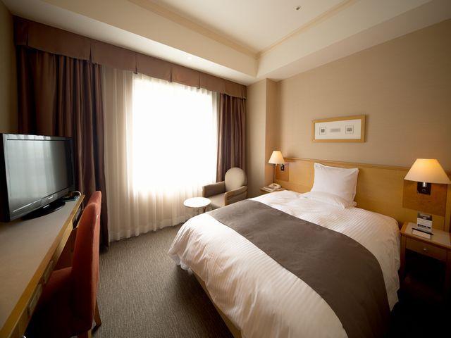 レンブラントホテル海老名 / 【禁煙】シングルルーム□18㎡□ベッド幅140cm×1台