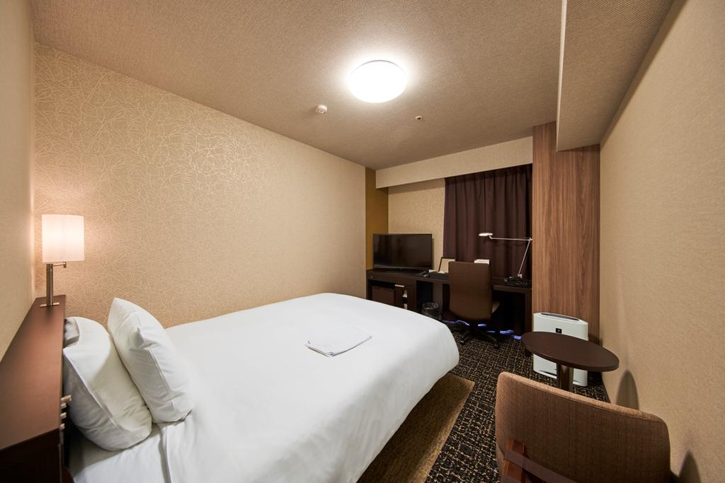 リッチモンドホテル秋田駅前 / 【喫煙】シングル~18.5平米・ベッド幅154cm~ネット接続無料