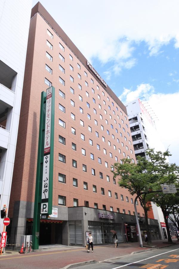 リッチモンドホテル博多駅前 【素泊まり】【LateOut】翌日13時チェックアウトで最大23時間滞在プラン
