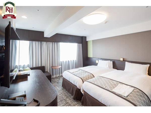 リッチモンドホテル東大阪 / ※禁煙※ハリウッドツインルームB/1名利用