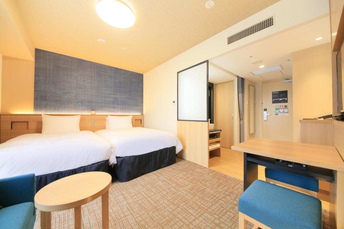リッチモンドホテル姫路 / 【喫煙】ツインルーム1名利用(25平米)