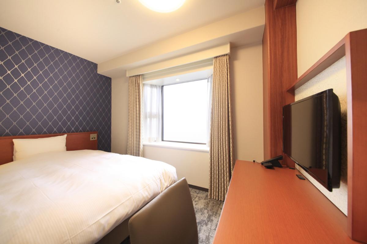リッチモンドホテル東京目白 / 【禁煙】スタンダードシングル(1名)15㎡|140cm幅ダブルベッド1台
