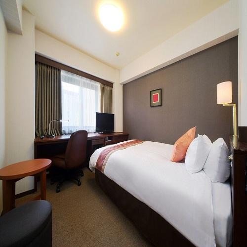 リッチモンドホテル仙台 / ◆喫煙:シングル(ダブルベッド140cm18平米)