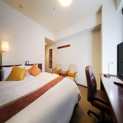 リッチモンドホテル仙台 / ◆喫煙:ダブルB クイーンサイズベッド1台