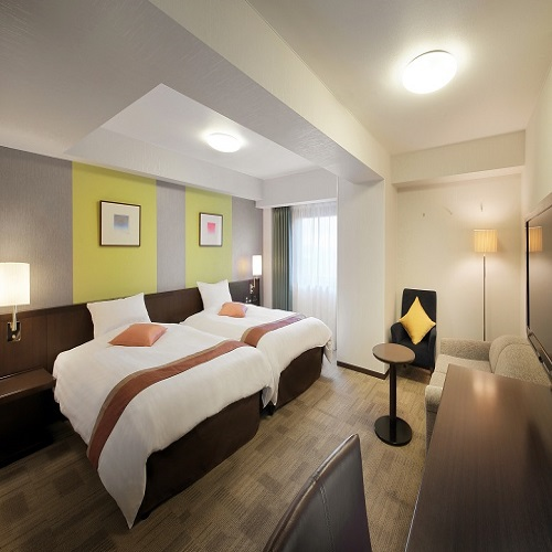 リッチモンドホテル仙台 / ◆喫煙:コンフォートツイン セミダブルベッド2台