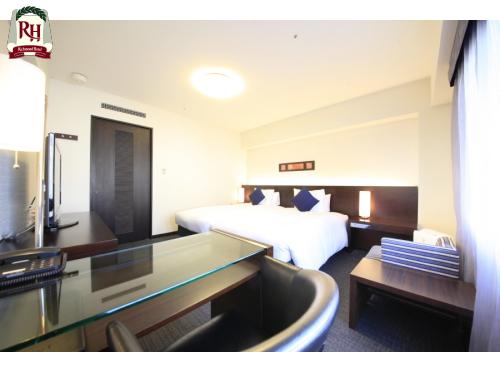 リッチモンドホテル鹿児島天文館 / 禁煙◇ハリウッドツイン
