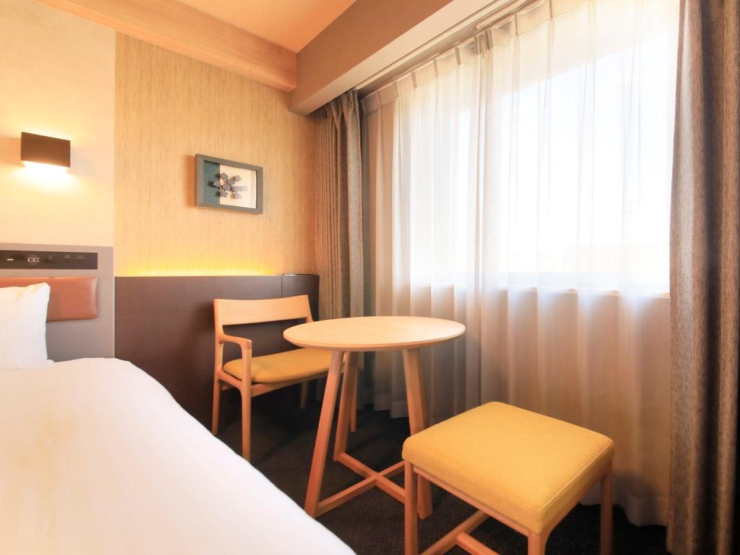 リッチモンドホテル山形駅前 / 【喫煙】コーナーツインルーム(1名利用)