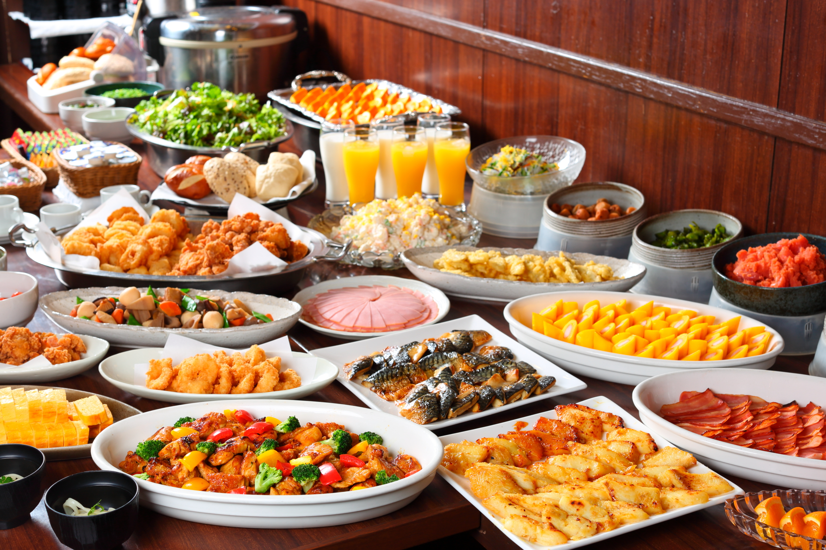 ホテルルートイン千葉浜野-東京湾岸道- / バイキング朝食付きスタンダードプラン