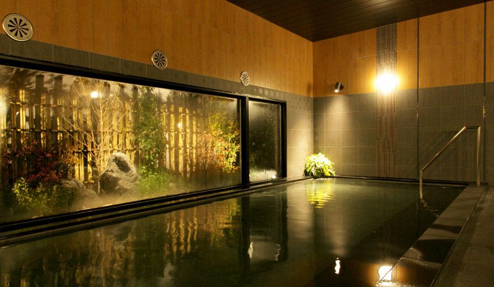 天然温泉「華の湯」 ルートイングランティア東海 Spa & Relaxation 【バイキング朝食付】早割<10日前>プラン♪【天然温泉の大浴場完備】