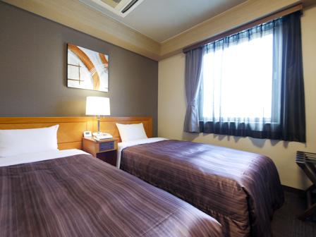 ホテルルートイン名古屋東別院 / ツイン