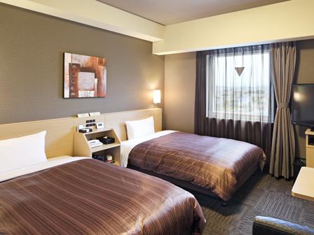 ホテルルートイン鯖江 ◆喫煙◆スタンダードツインルーム