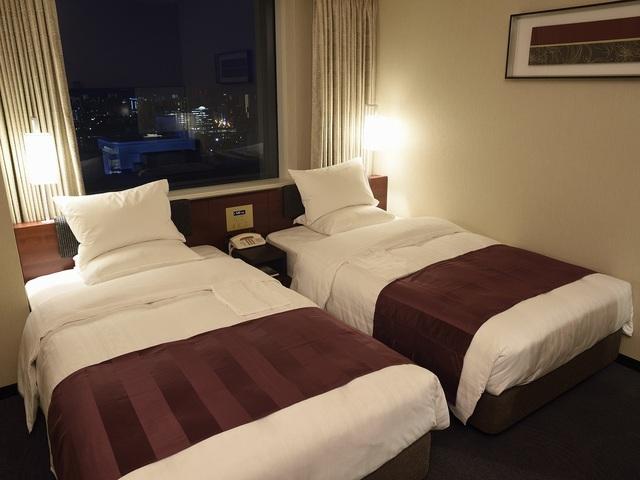 リーガロイヤルホテル広島 / <喫煙>スタンダードツイン(24平米)
