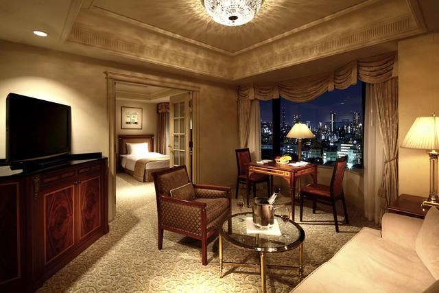 リーガロイヤルホテル東京 / 庭園側 ジュニアスイート ツイン42~49平米(禁煙)