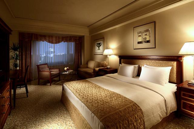 リーガロイヤルホテル東京 / ダブル32~38平米(禁煙)