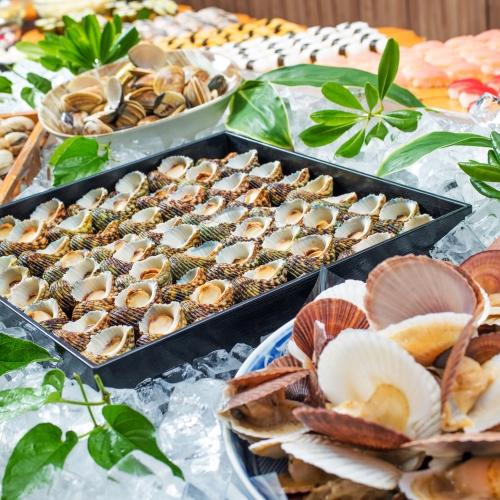 白浜オーシャンリゾート / 【スタンダード】サザエの壺焼きや地野菜を使った料理など食べ放題!郷土料理バイキング2食付き