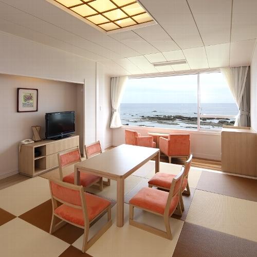 白浜オーシャンリゾート / 【禁煙】上層階 琉球畳 和室10畳(ペット同伴不可)