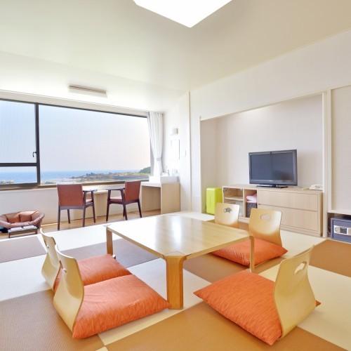 白浜オーシャンリゾート / ■ペットと泊まれる 2階 琉球畳 和室10畳 展望風呂付き