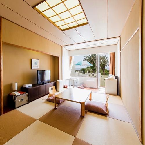 白浜オーシャンリゾート / ■【禁煙】ペットと泊まれる 琉球畳 和室7.5畳 テラス付き