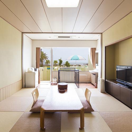 白浜オーシャンリゾート / ■【禁煙】ペットと泊まれる 琉球畳 和室10畳 テラス付き
