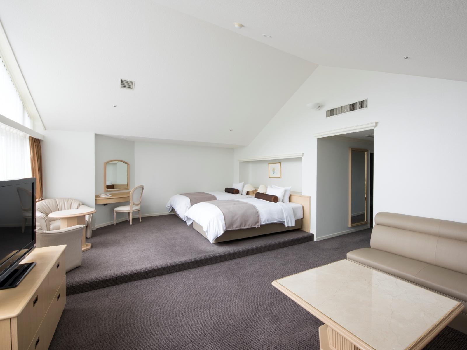 ルスツリゾートホテル&コンベンション / ジュニアスイート洋室2-4名◆禁煙/66㎡◆ツイン×ツイン【DP】
