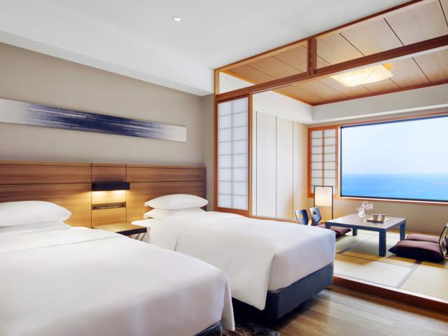 南紀白浜マリオットホテル / 和洋室ツイン(海側)【禁煙】