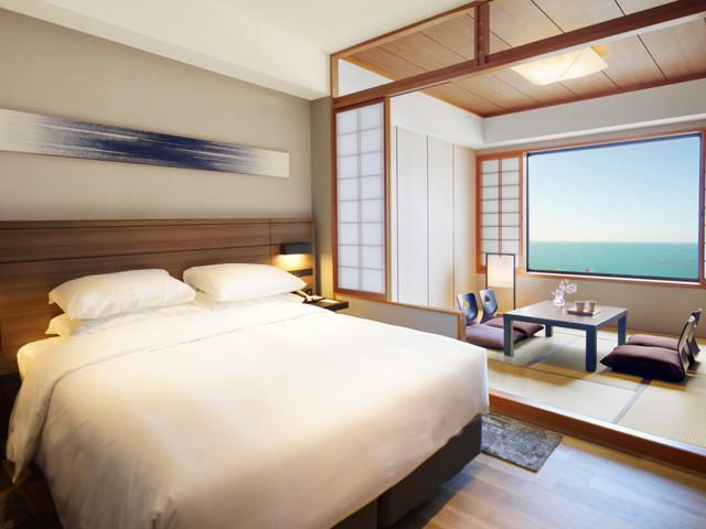 南紀白浜マリオットホテル / 和洋室キング(海側)【禁煙】