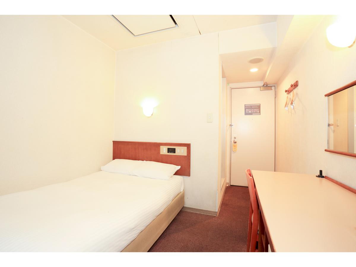 スマイルホテル旭川 / スタンダードシングル禁煙【10平米・ベッド幅1,200mm】
