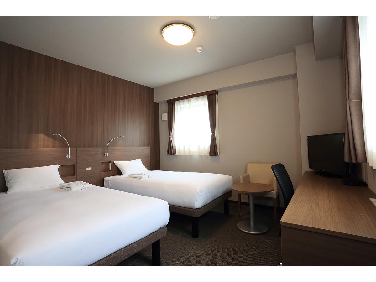 スマイルホテル博多駅前 / ツインルーム◆喫煙可◆