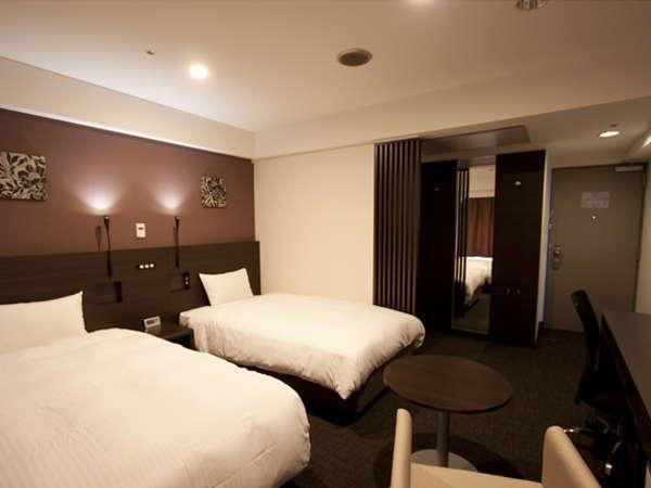 スマイルホテル京都四条 / ■スタンダードツイン禁煙■全室空気清浄機&加湿器完備◎