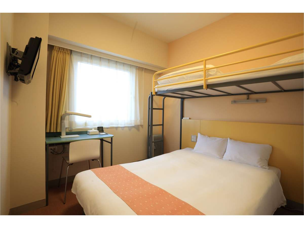 スマイルホテル仙台泉インター / スーペリアダブル+ロフトベッド