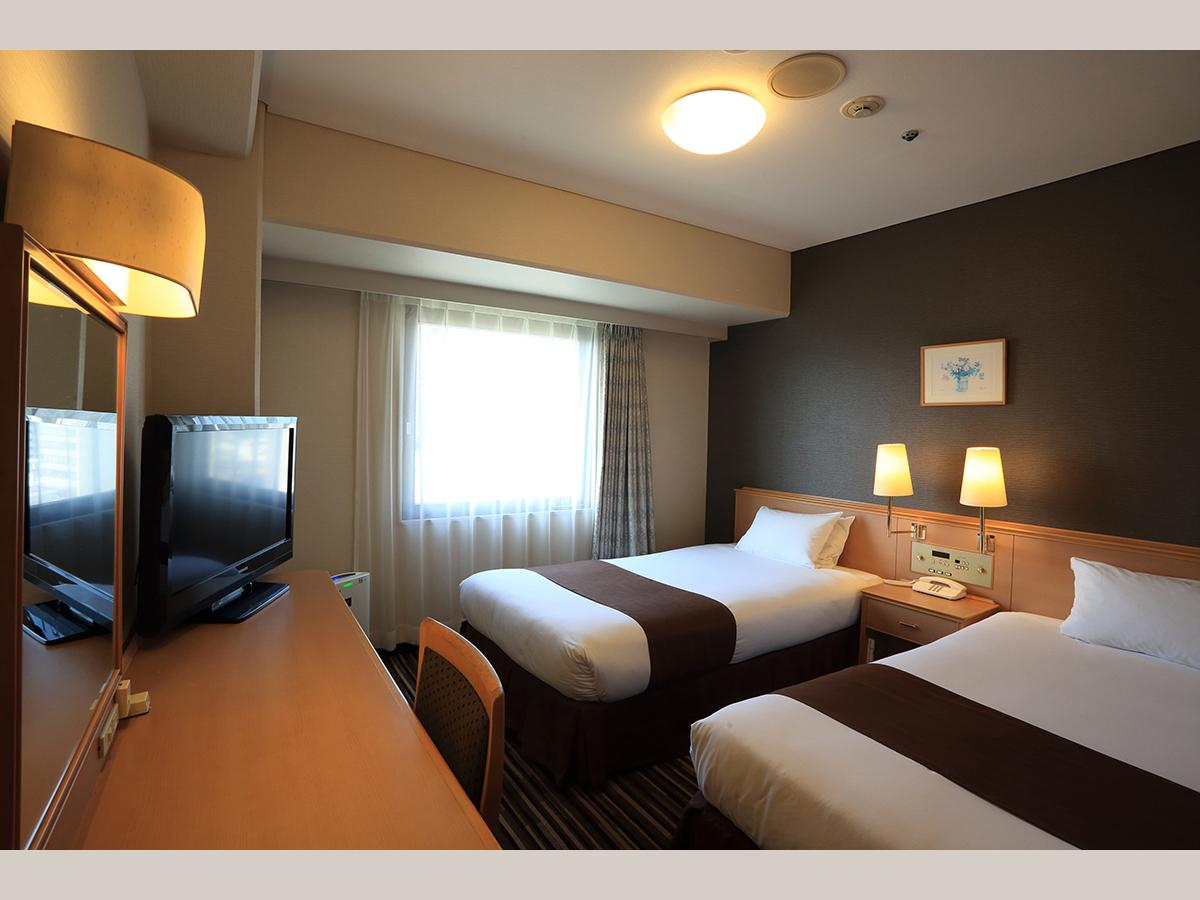 スマイルホテル徳島 / ツインルーム【喫煙】