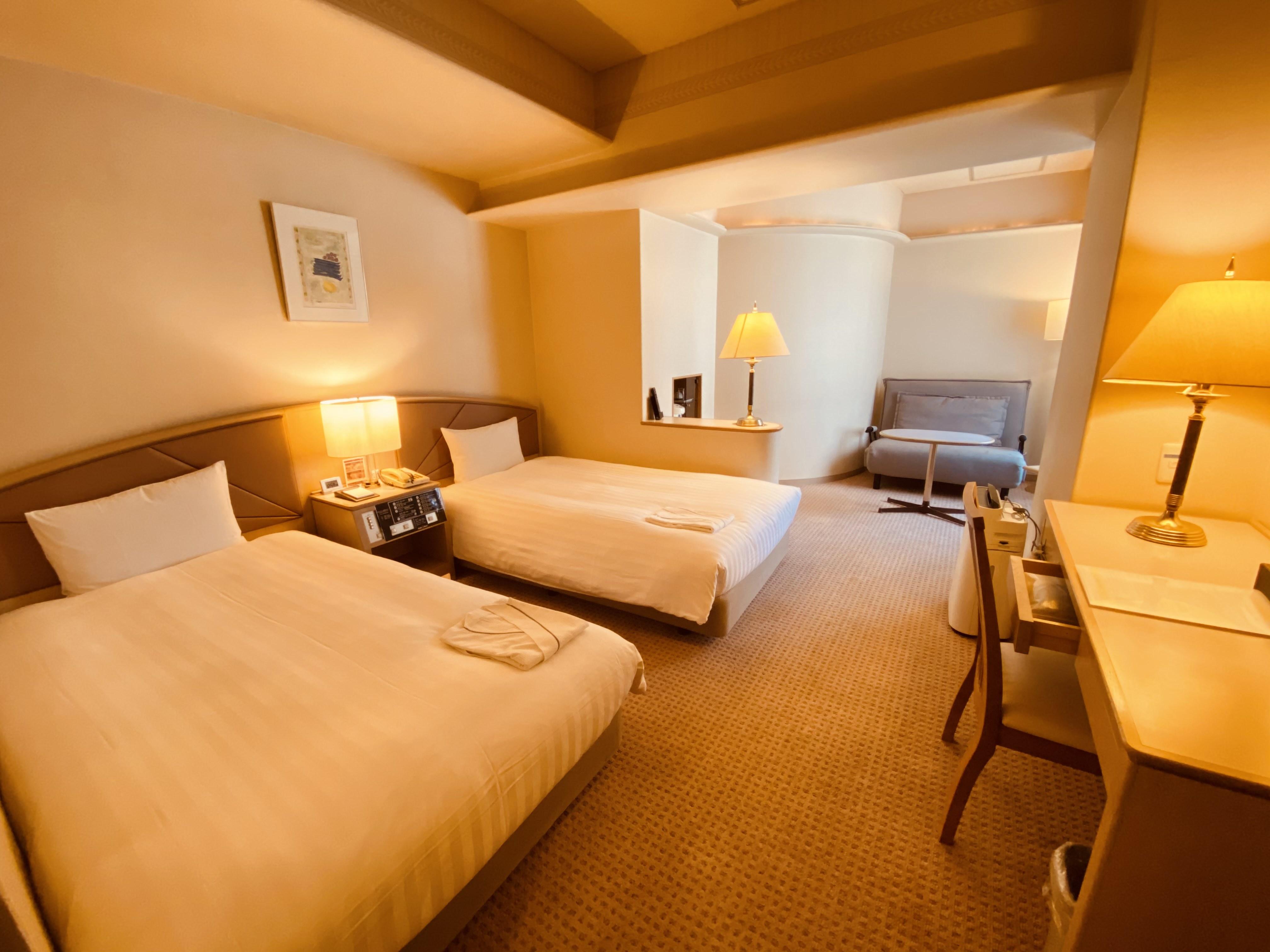 スマイルホテル東京西葛西 / (喫煙)スタンダードツインルームA