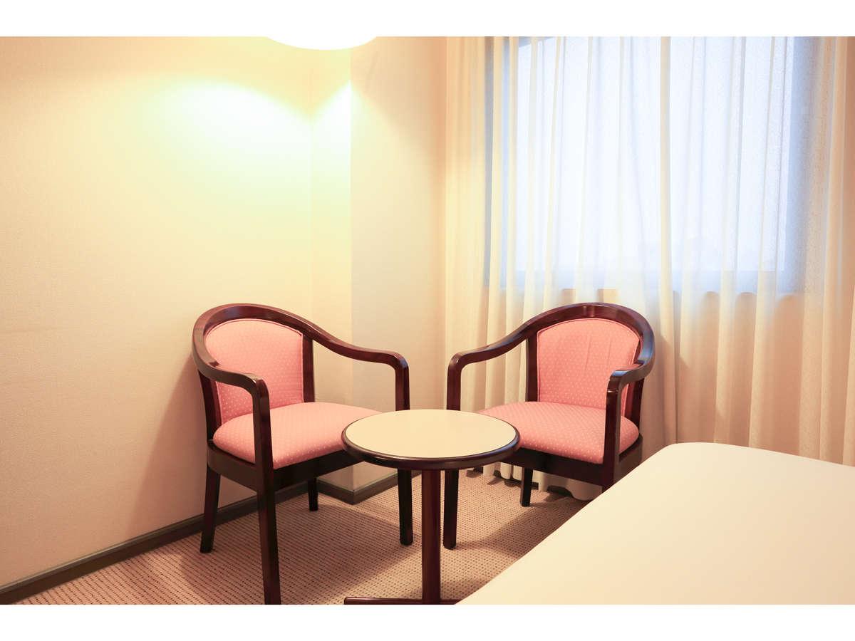 スマイルホテル米子 / ツインルーム 喫煙可 20平米 Wi-fi接続無料