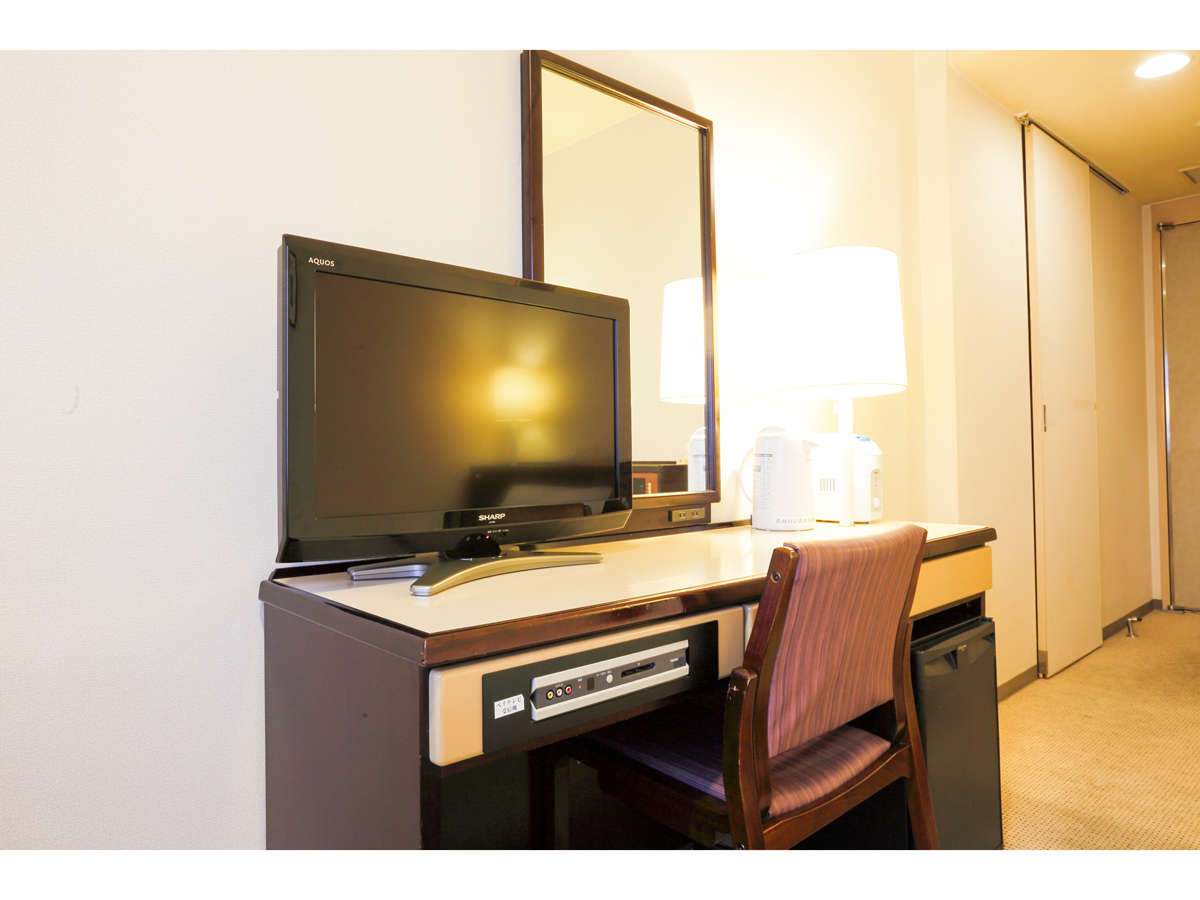 スマイルホテル米子 / ダブルルーム 禁煙 17平米 Wi-fi接続無料